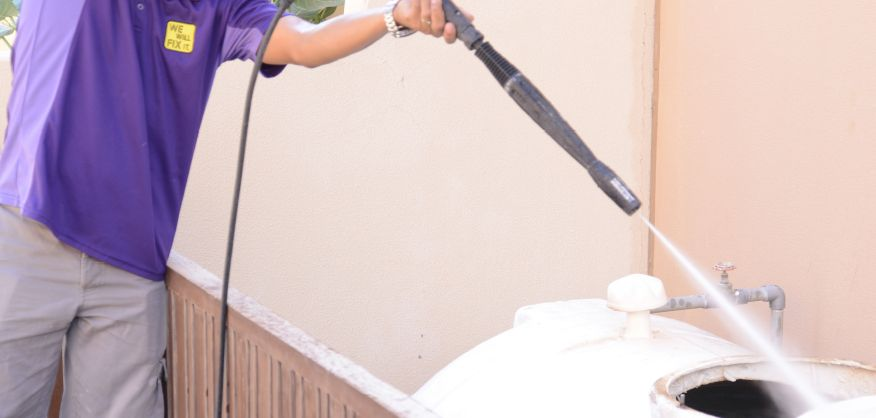 Water tank cleaning services in UAE