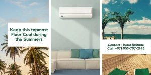 keep the top floor cool during the Summers