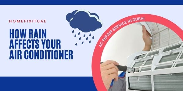 Rain Affects Your AC